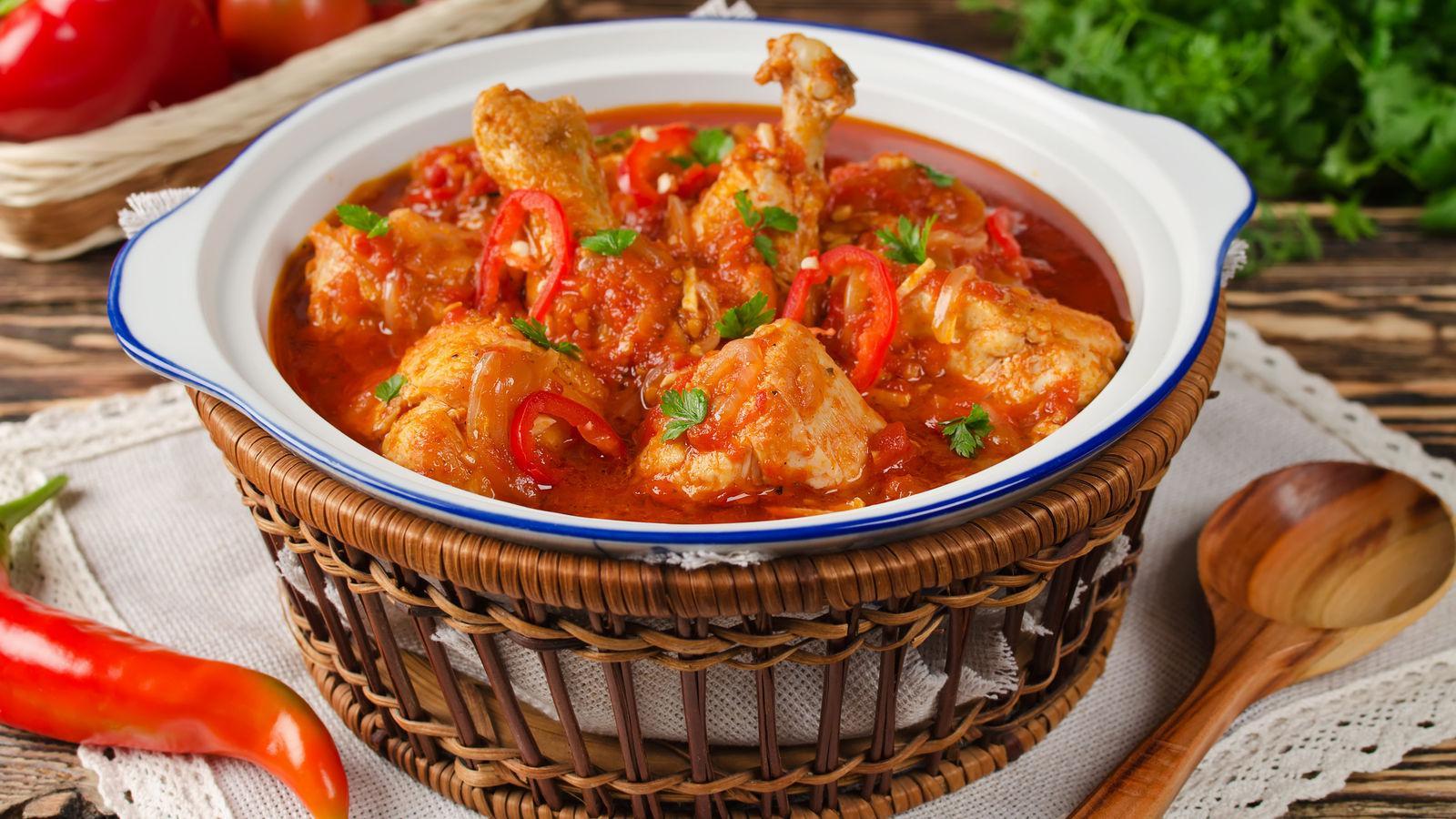 Чахохбили из курицы рецепт с фото пошагово