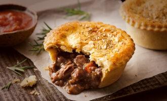 Австралийский пирог с мясом